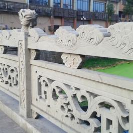 石桥石雕栏杆