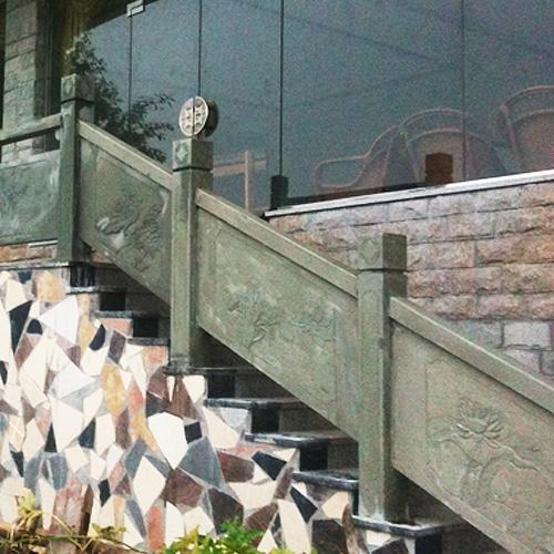 楼梯石栏杆扶手