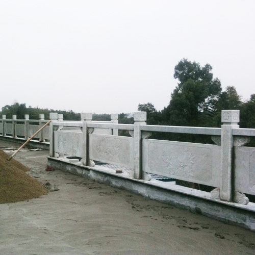 自贡雕塑石栏杆围栏