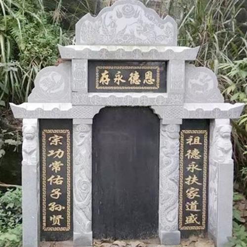 石雕艺术墓碑
