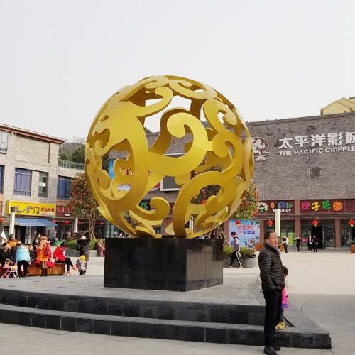 自贡城市圆雕景观雕塑